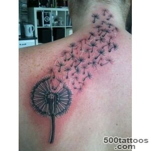 Dandelion Tattoos Designs, Ideas and Meaning  Tattoos For You_37