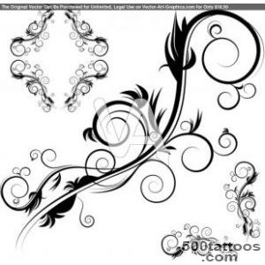 An Image Of Decorative Antique Flourishes Frame Set Be  Tattoo _30