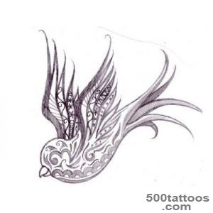 decorative swallow tattoo designs – Tattoo Designs_21