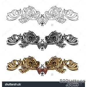 Decorative Tattoo Stock Photo 80155594  Shutterstock_1