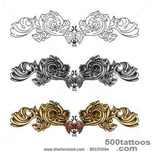 Decorative Tattoo Stock Photo 80155594  Shutterstock_5