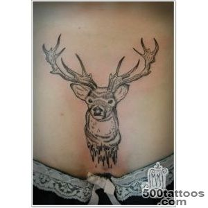 25 Deer Tattoos For Men And Women_45