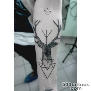 45 Inspiring Deer Tattoo Designs  Art and Design_4