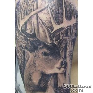 45 Inspiring Deer Tattoo Designs  Art and Design_23