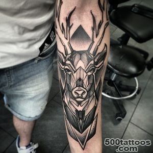 65 Nobel Deer Tattoo Meaning and Designs   Express Your Feelings _6