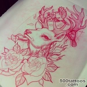 1000+ ideas about Deer Tattoo on Pinterest  Tattoos, Hunting _24