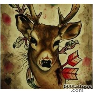 Best Deer Tattoo Designs   Our Top 10_42