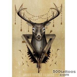 Deer Tattoos, Designs And Ideas  Page 7_47