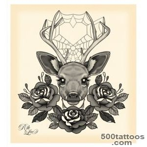 Deer Tattoos, Designs And Ideas  Page 12_38