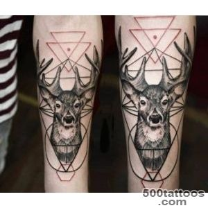 Dotwork deer tattoo by Timur Lysenko  No 1403_9
