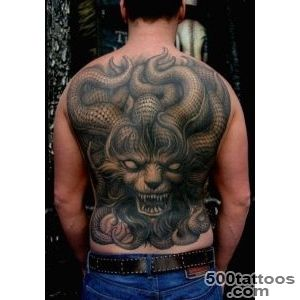 30 Unbelievable Demon Tattoos  CreativeFan_32