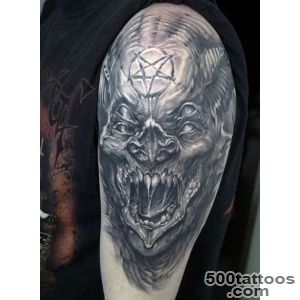 90 Demon Tattoos For Men   Devilish Exterior Design Ideas_8
