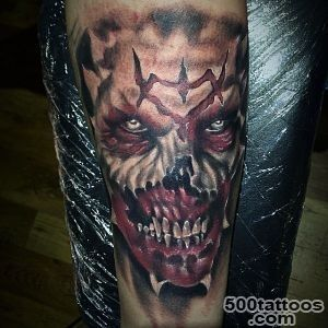 90 Demon Tattoos For Men   Devilish Exterior Design Ideas_29