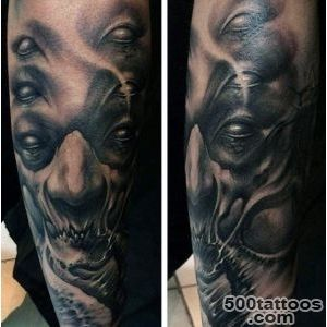 90 Demon Tattoos For Men   Devilish Exterior Design Ideas_50
