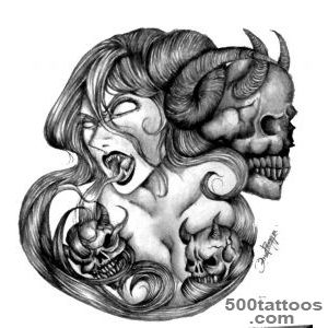 Demon Tattoos, Designs And Ideas  Page 11_16