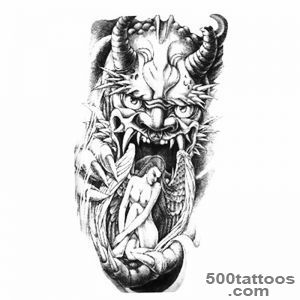 devil tattoo designs ideas meanings images. Black Bedroom Furniture Sets. Home Design Ideas