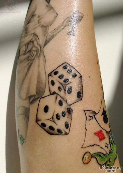 Dice Tattoos, Designs And Ideas_9