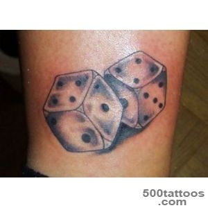 25 Awesome Dice Tattoos_5
