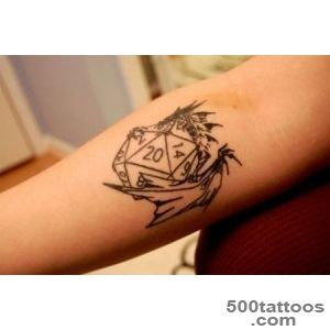 30 Best Dice Tattoo Designs To Try With_26