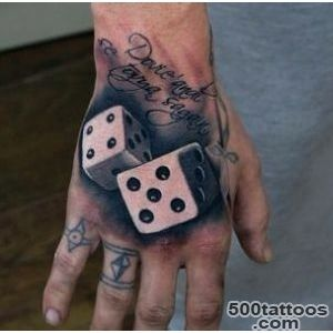 75 Dice Tattoos For Men   The Gambler#39s Paradise Of Life_4