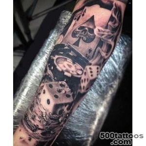 75 Dice Tattoos For Men   The Gambler#39s Paradise Of Life_20
