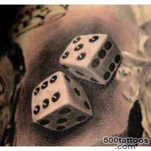 1000+ ideas about Dice Tattoo on Pinterest  Gambling Tattoos _1
