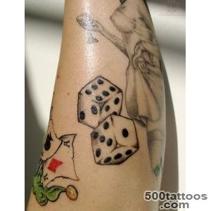 Dice Tattoo Images amp Designs_28