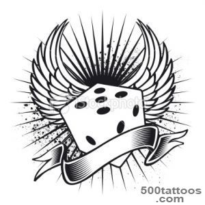 Dice Tattoos, Designs And Ideas  Page 5_31