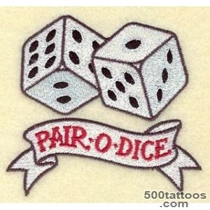 Dice Tattoos, Designs And Ideas  Page 10_16