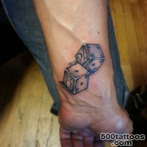 dice tattoos  Tumblr_29