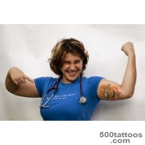 Blue Photography  Tattooed Med Student Portrait Photography_43