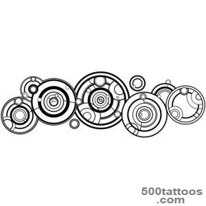 Doctor Who Gallifreyan tattoo, doctors name  WefollowPics_40