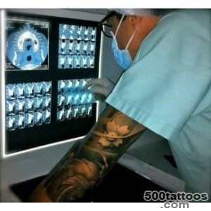 Tattooed doctor ( my dentist has sleeves and he#39s awesome (aka _19