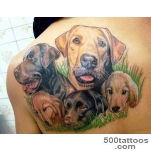 Dog Tattoos For Men   The Coolest Dog Tattoo Designs_32
