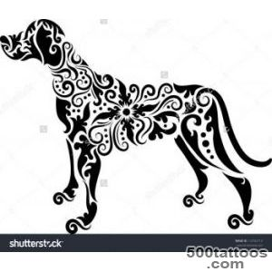 Dog Tattoo Stock Photos, Images, amp Pictures  Shutterstock_28