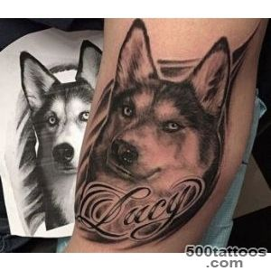 Here are the coolest 14 Husky dog tattoos out there   Husky Lovers_39