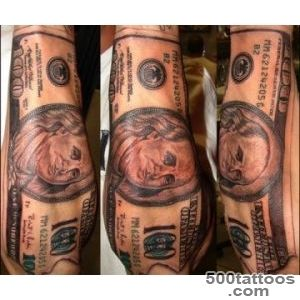 35 Arresting Money Tattoos   SloDive_19