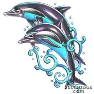 Lovely Dolphin Tattoo Picture  Fresh 2016 Tattoos Ideas_10