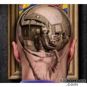 Chrome sphere  10 Most Hilarious Baldhead Tattoos in the World!_35