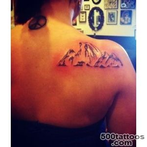 Tattoos on Pinterest  Mountain Tattoos, World Map Tattoos and Map _16