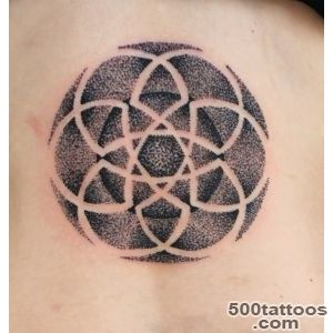 celtic dot pointillisum tattoo  TATTOOs by Mareva Lambough_2