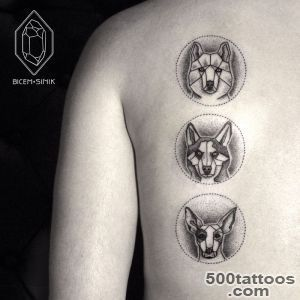 Geometric Line And Dot Tattoos By Turkish Artist Prove Less Is _28