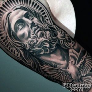50 Dove Tattoos For Men   Soaring Designs With Harmony_49