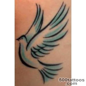 Dove Tattoos Designs, Ideas, Meanings, and Pictures_29