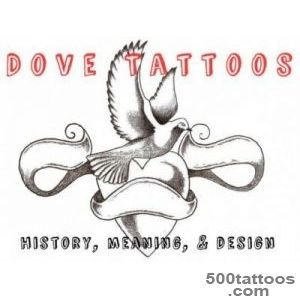 Dove Tattoos Designs, Ideas, Meanings, and Pictures_43