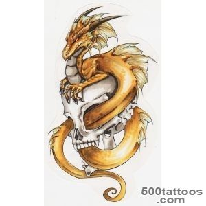60 Awesome Dragon Tattoo Designs for Men_17