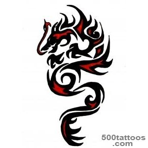 Dragon tattoo red  Tattoo Collection_6