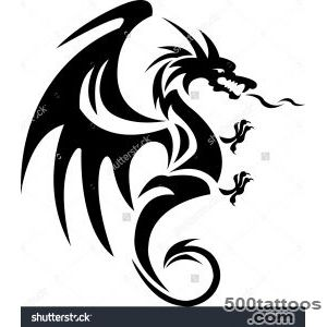Dragon Tattoo Stock Photos, Images, amp Pictures  Shutterstock_1