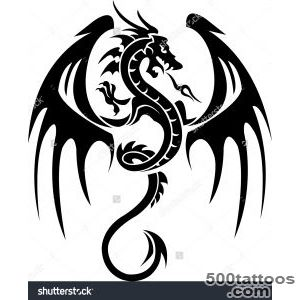 Dragon Tattoo Stock Photos, Images, amp Pictures  Shutterstock_33