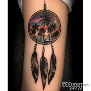 40 Mysterious Photos of Dreamcatcher Tattoos_12